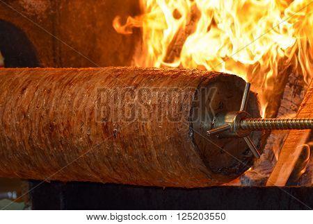 Traditional Turkish Food, Turkish Kebap,  Doner, Cag Kebap
