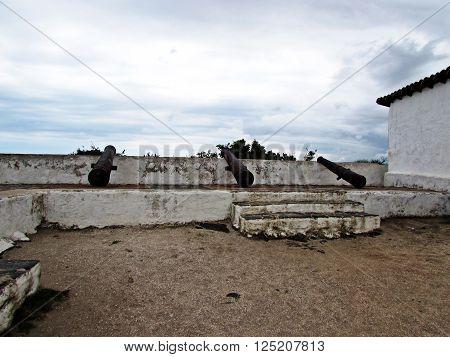 Cannon Fort Saint Matthew Cabo Frio, Cabo Frio, Rio de Janeiro, Brazil