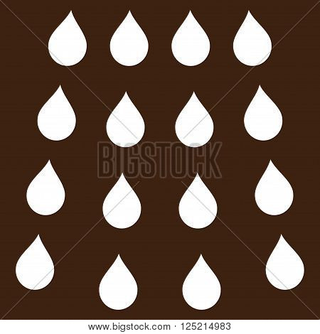 Drops vector icon. Drops icon symbol. Drops icon image. Drops icon picture. Drops pictogram. Flat white drops icon. Isolated drops icon graphic. Drops icon illustration.