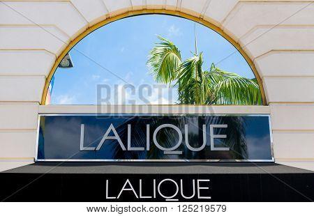 Lalique Retail Store Exterior