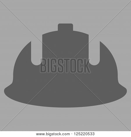 Construction Helmet vector icon. Construction Helmet icon symbol. Construction Helmet icon image.