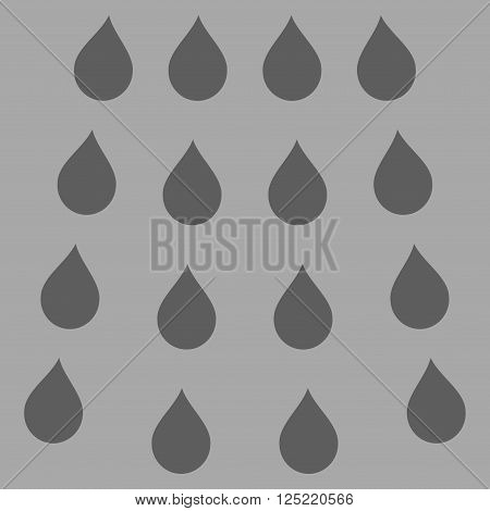 Drops vector icon. Drops icon symbol. Drops icon image. Drops icon picture. Drops pictogram. Flat dark gray drops icon.