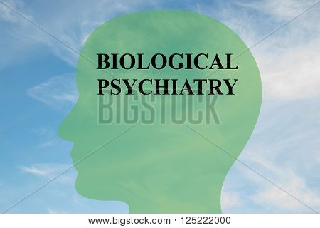 Biological Psychiatry Brain Concept