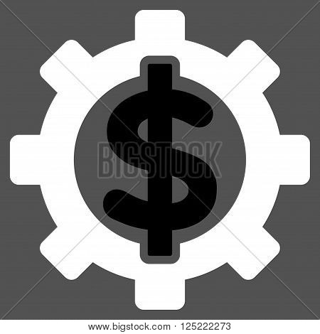 Financial Options vector icon. Financial Options icon symbol. Financial Options icon image. Financial Options icon picture. Financial Options pictogram. Flat black and white financial options icon.