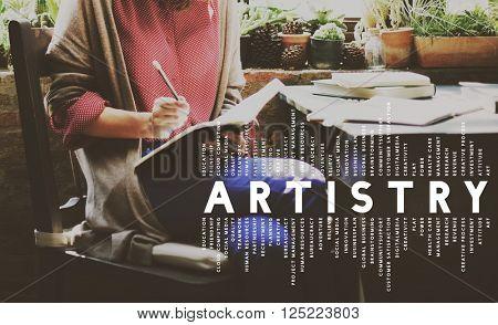 Artistry Art Creative Designer Imagination Concept