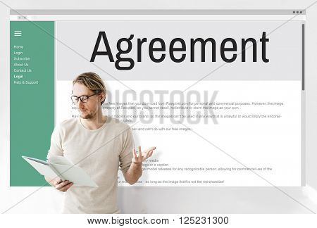 Agreement Alliance Collaboration Deal Partnership Concept