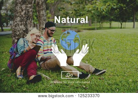 Natural Earth Ecology Environmental Conservation Concept