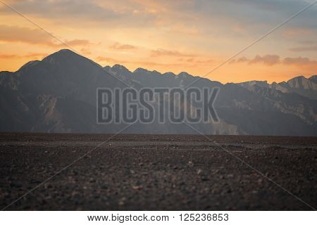 Mountains In The Andes Of Peru