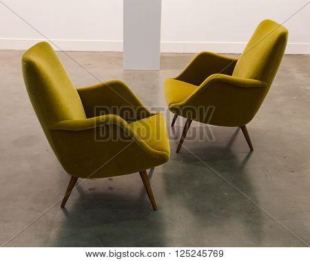 Design Furniture At Miart 2016 In Milan, Italy