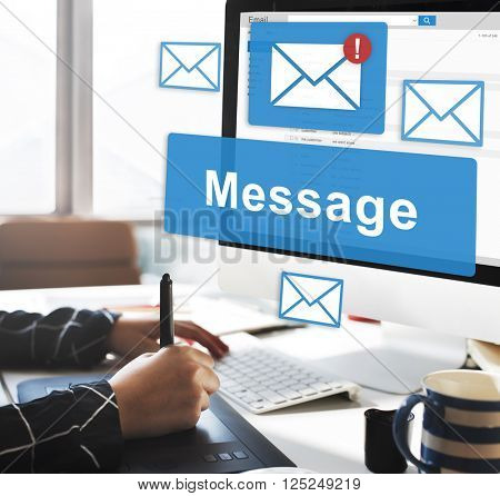 Message Email Information Letter Report Signal Concept