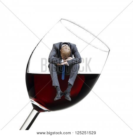 An alcoholic