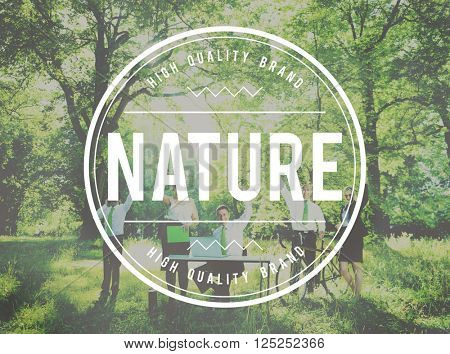 Nature Environmental Conservation Organic Concept