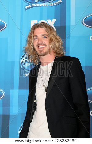 LOS ANGELES - APR 7:  Bucky Covington at the American Idol FINALE Arrivals at the Dolby Theater on April 7, 2016 in Los Angeles, CA