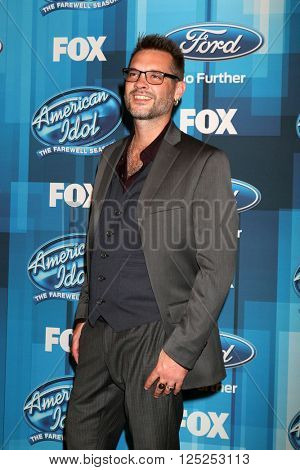 LOS ANGELES - APR 7:  Bo Bice at the American Idol FINALE Arrivals at the Dolby Theater on April 7, 2016 in Los Angeles, CA