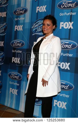 LOS ANGELES - APR 7:  Kimberley Locke at the American Idol FINALE Arrivals at the Dolby Theater on April 7, 2016 in Los Angeles, CA