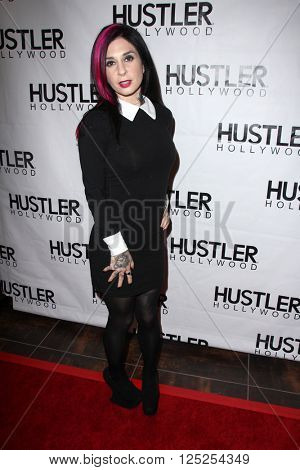 LOS ANGELES - APR 9:  Joanna Angel at the Hustler Hollywood Grand Opening at the Hustler Hollywood on April 9, 2016 in Los Angeles, CA