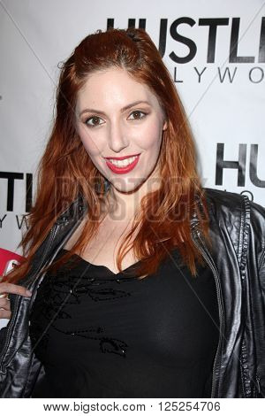 LOS ANGELES - APR 9:  Lauren Phillips at the Hustler Hollywood Grand Opening at the Hustler Hollywood on April 9, 2016 in Los Angeles, CA