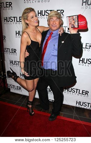 LOS ANGELES - APR 9:  Jessa Rose, Evan Stone at the Hustler Hollywood Grand Opening at the Hustler Hollywood on April 9, 2016 in Los Angeles, CA