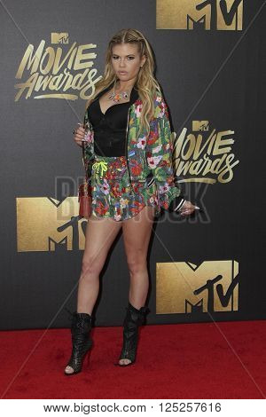 LOS ANGELES - APR 9:  Chanel West Coast at the 2016 MTV Movie Awards Arrivals at the Warner Brothers Studio on April 9, 2016 in Burbank, CA
