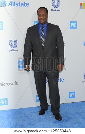 LOS ANGELES - APR 7:  James T Butts Jr at the WE Day California 2016 at the The Forum on April 7, 2016 in Inglewood, CA