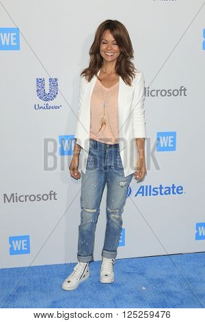 LOS ANGELES - APR 7:  Brooke Burke at the WE Day California 2016 at the The Forum on April 7, 2016 in Inglewood, CA