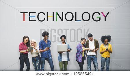 Technology Innovation Evolution Tech Innovative Concept