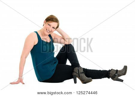 Fashion Portrait Of Healthy, Active, Attractive Middle Aged Senior Woman