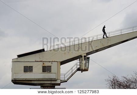 Für den Weg zum Erfolg muss man klettern können.
