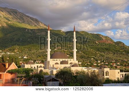 Mosque Selime of Islamic Centre in Bar, Montenegro