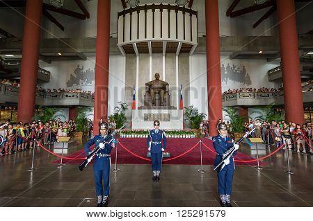 Guard Changing Ceremony, Chiang Kai Shek Memorial Hall