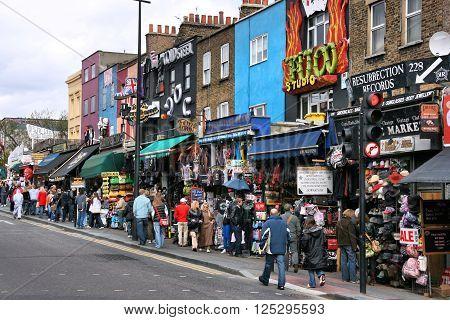 Camden Shopping