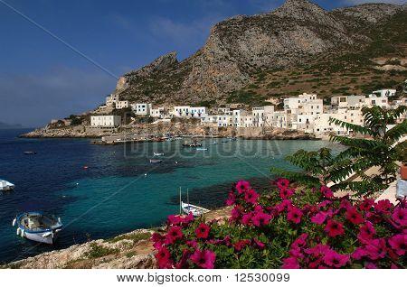 Levanzo island, Trapani, Sicily, Italy