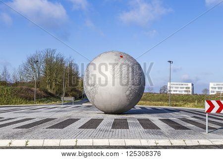 Globe At Headquarters Of Famous Camera Manufactur Leitz