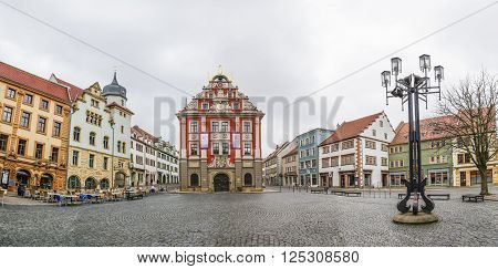 Scenic View To Old Town Hall In Gotha