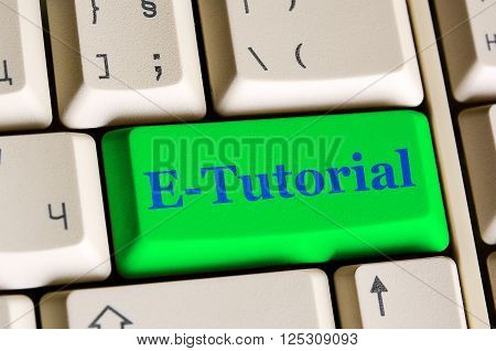 E Tutorial Key