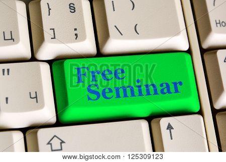 Free Seminar  Green Key