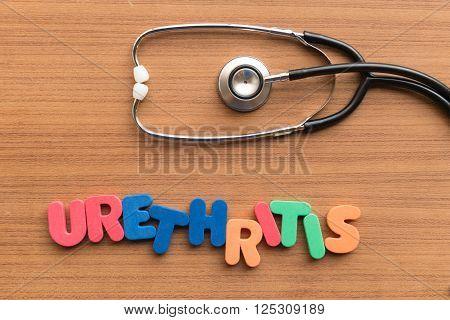 Urethritis Medical Word