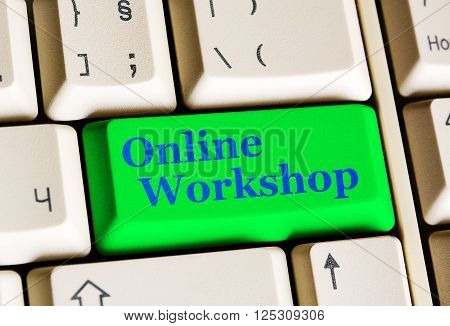 Online Workshop Green Button