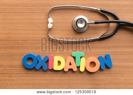 Oxidation Medical Word