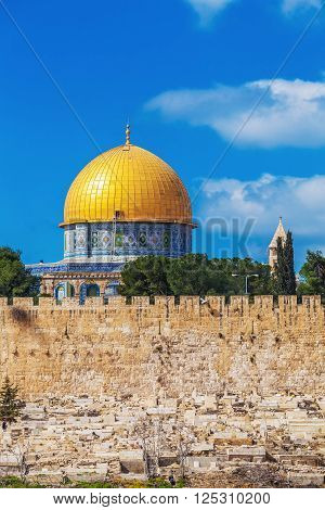Al-aqsa Mosque At Day, Jerusalem, Israel