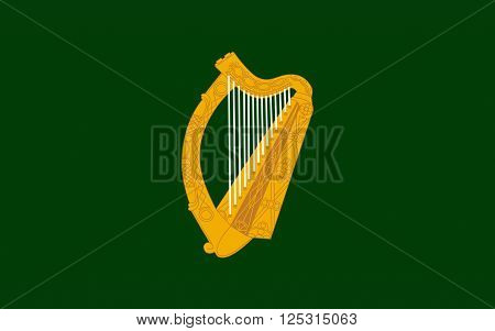 Flag Leinster is one of the Provinces of Ireland situated in the east of Ireland. It comprises the ancient Kingdoms of Mide Osraige and Leinster.