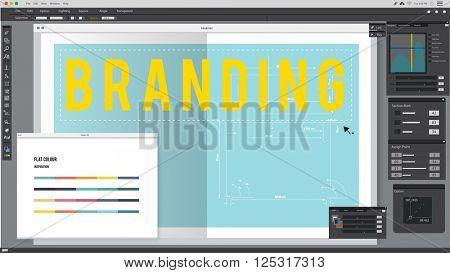 Branding Trademark Advertising Marketing Product Concept