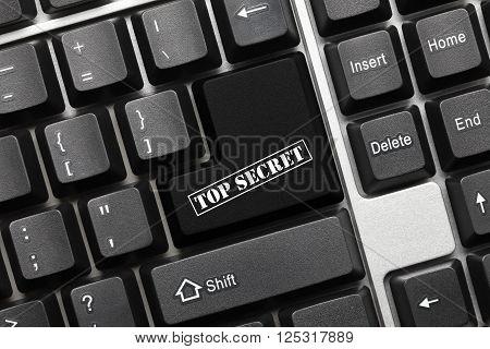 Conceptual Keyboard - Top Secret Key