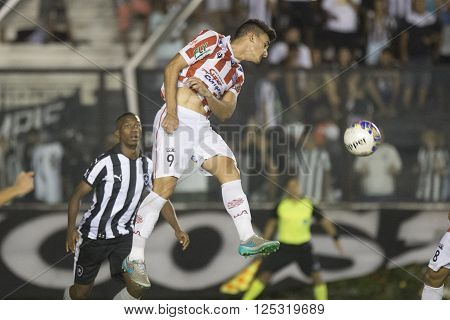 Rio de Janeiro Brasil - April 09 2016: Igor Goulart player in match between Vasco da Gama and Madureira by the Carioca championship in the S ** Note: Visible grain at 100%, best at smaller sizes