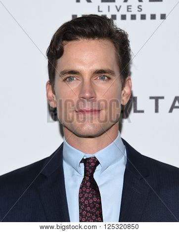 LOS ANGELES - APR 07:  Matt Bomer arrives to the Reel Stories, Real Lives  on April 07, 2016 in Hollywood, CA.