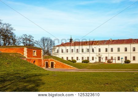 The Zamojski Academy founded in 1594 by Polish Crown Chancellor Jan Zamoyski.