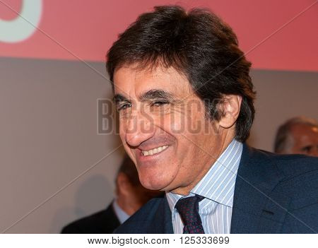 Turin, Italy, 27 Nov 2014 - Urbano Cairo, president of Cairo Communication enterprise and owner of football club
