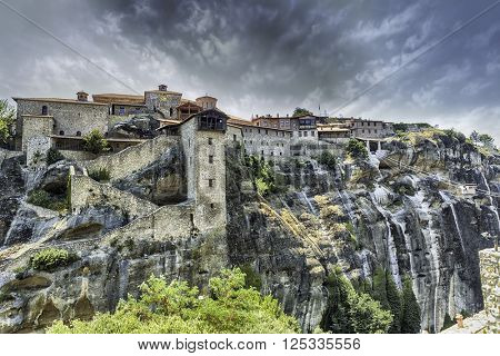 Grand Meteoro old monastery at Meteora, Greece