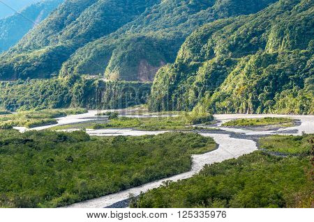 From Andes to Amazon View of the tropical rainforest Pastaza province in the Oriente of Ecuador ** Note: Soft Focus at 100%, best at smaller sizes