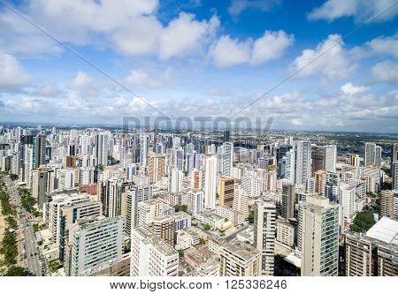 Buildings at Boa Viagem in Recife, Pernambuco, Brazil